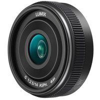 Obiektywy fotograficzne, Obiektyw Panasonic LUMIX G 14 mm f/2.5 II ASPH Czarny (H-H014AE-K) Darmowy odbiór w 21 miastach!