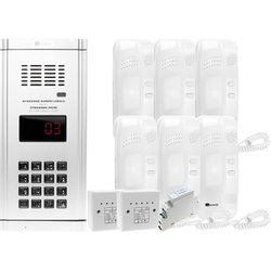 Zestaw domofonowy 6 rodzinny WL-03NL