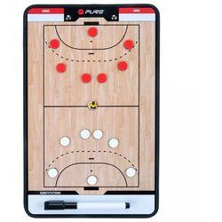 Pure2Improve Dwustronna tablica trenerska do piłki ręcznej, 35x22 cm Darmowa wysyłka i zwroty