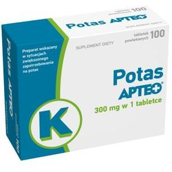 POTAS Apteo 300mg x 100 tabletek