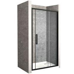 Drzwi prysznicowe z czarnym profilem 150 cm Rapid Slide Rea UZYSKAJ 5 % RABATU NA ZAKUP