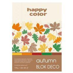 Blok deko autumn A4 170g 20ark 5 kolorów. Darmowy odbiór w niemal 100 księgarniach!