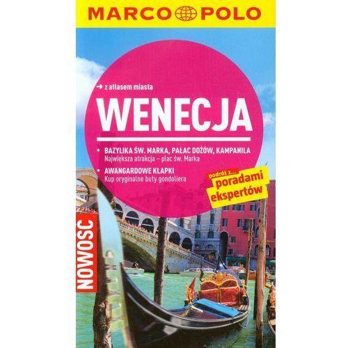 Przewodniki turystyczne, Wenecja Przewodnik z atlasem miasta (opr. miękka)
