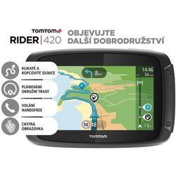 TomTom nawigacja Rider 420 EU - LIFETIME - BEZPŁATNY ODBIÓR: WROCŁAW!