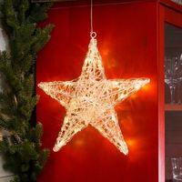 Ozdoby świąteczne, Pięcioramienna akrylowa gwiazda LED Ingar