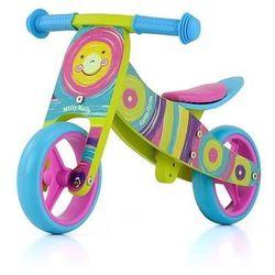 Rowerek biegowy 2w1 Jake Rainbow 2103 MILLY MALLY