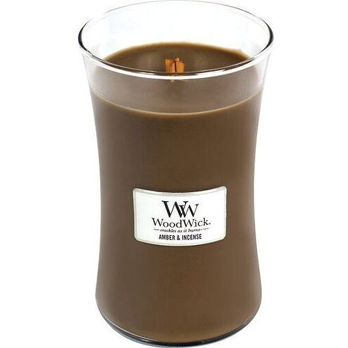 Świeczki, WoodWick - Świeca Duża Amber & Incense 175h