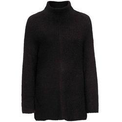 "Sweter ""oversize"" bonprix czarny"