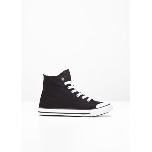 Męskie obuwie sportowe, Wysokie sneakersy bonprix czarny