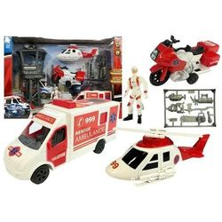 Zestaw Ratunkowy Stacja Ambulans Motor Helikopter