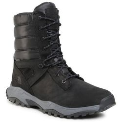 Śniegowce THE NORTH FACE - Thermoball Boot Zip-Up NF0A4OAIKZ21 Tnf Black/Zinc Grey