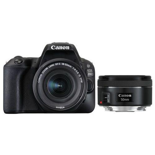 Lustrzanki, Canon EOS 200D