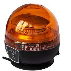 Lampa błyskowa ostrzegawcza akumulator LED kogut
