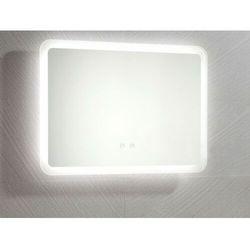 Prostokątne lustro łazienkowe z podświetleniem LED ORBITEA - Dł. 70 x Gł. 3.5 x Wys. 50