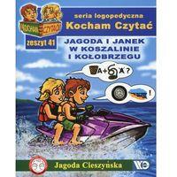 Książki dla dzieci, Kocham Czytać Zeszyt 41 Jagoda i Janek w Koszalinie i Kołobrzegu (opr. miękka)
