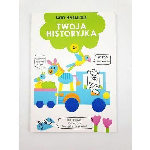 Książki dla dzieci, 400 naklejek. Twoja historyjka 4+ (zielona) (opr. broszurowa)