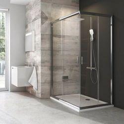 Ravak Blix BLRV2K-100 drzwi prysznicowe 100 cm przesuwne częściowe 1/2 satyna/transparent 1XVA0U00Z1