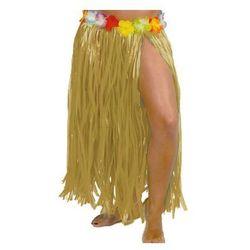 Spódniczka hawajska długa z kwiatkami - 1 szt.