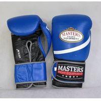 Rękawice do walki, Rękawice bokserskie Masters RBT-MEX-1 - niebiesko-czarny