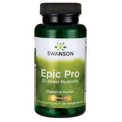 Epic Pro 25 Strain Probiotic DR 30 wegetariańskich kapsułek SWANSON