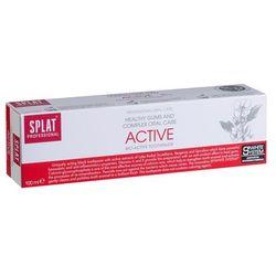 Splat Active 100ml - Pielęgnująca dziąsła wybielająca pasta do zębów z ekstraktem z ziół wzbogacona witaminami A+E