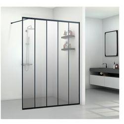 Ścianka prysznicowa w industrialnym stylu ATALIA - 140*200 cm