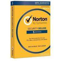 Oprogramowanie antywirusowe, Norton Internet Security Deluxe 5 urządzeń / 3 lata Polska wersja językowa! / szybka wysyłka na e-mail / Faktura VAT / 32-64BIT / WYPRZEDAŻ