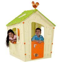 Domki i namioty dla dzieci, KETER domek do zabaw dla dzieci MAGIC PLAY HOUSE - beżowy - BEZPŁATNY ODBIÓR: WROCŁAW!