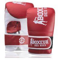 Rękawice do walki, Rękawice bokserskie BOXEUR BXT-5140 (rozmiar M) Czerwony