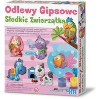 Kreatywne dla dzieci, Słodkie zwierzaki Odlewy gipsowe - 4m DARMOWA DOSTAWA KIOSK RUCHU