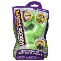 Kreatywne dla dzieci, Kinetic Foam – pojedyncze opakowanie zielonej pianki