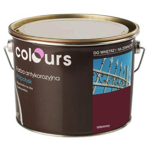 Farby, Farba antykorozyjna Colours wiśniowa 2,5 l