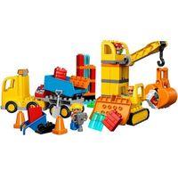 Klocki dla dzieci, Lego DUPLO Wielka budowa 10813