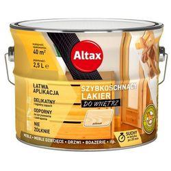 Lakier szybkoschnący Altax bezbarwny półmat 2,5 l