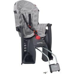 HAMAX fotelik rowerowy Siesta Premium grey/light grey