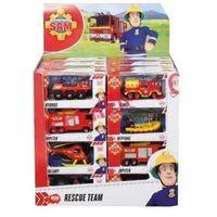 Jeżdżące dla dzieci, Simba strażak sam pojazd y 1/64, 8 rodz.