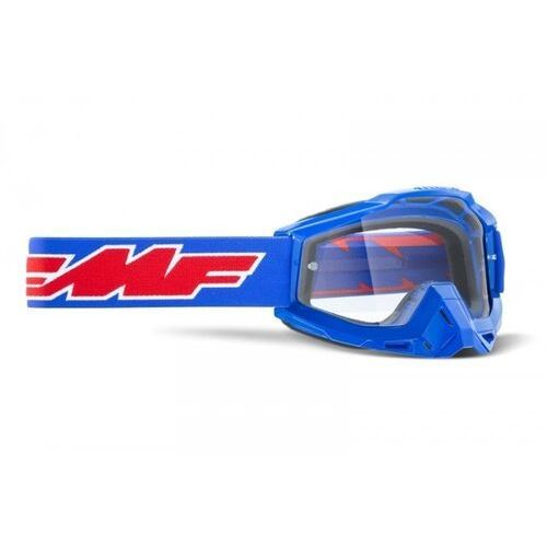 Gogle i okulary motocyklowe, Fmf gogle powerbomb rocket blue szyba clear