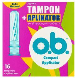 o.b. tampony z aplikatorem 16 Normal+G4