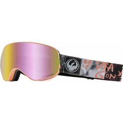 gogle snowboardowe DRAGON - Dr X2S 2 Flaunt Llpinkion+Lldksmk (401) rozmiar: OS