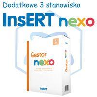 Programy kadrowe i finansowe, InsERT Gestor Nexo - rozszerzenie na dodatkowe 3 stanowiska