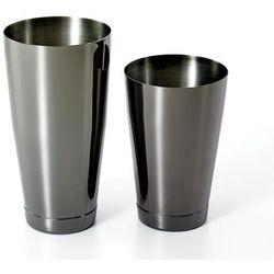 Shaker Boston 2-częściowy typu TIN&TIN 700 ml+ 500 ml czarny połysk
