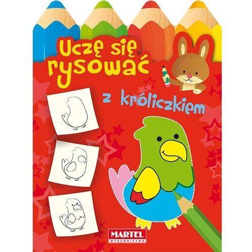 Książki dla dzieci, Uczę się rysować z króliczkiem - Praca zbiorowa (opr. miękka)