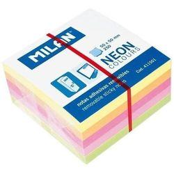 MILAN Karteczki samoprzylepne 50x50 Neon - WIKR-927414 Darmowy odbiór w 21 miastach!