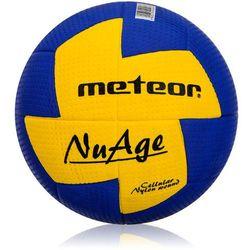 Piłka ręczna Meteor NuAge junior 1 niebiesko-żółta