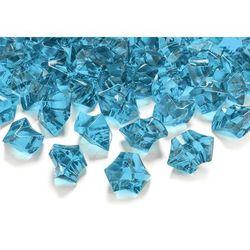Kryształowy lód turkusowy - 2,5 x 2,1 cm - 50 szt.