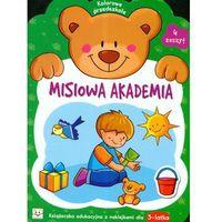 Książki dla dzieci, MISIOWA AKADEMIA. ZESZYT 4 (3 LATA) (opr. miękka)