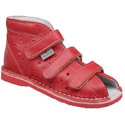 Kapcie profilaktyczne buty DANIELKI T105L T115L Czerwony Lico - Czerwony