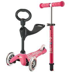 Hulajnoga Mini Micro 3in1 Deluxe - Pink/Różowa - Micro