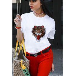 Damski t-shirt TIGER