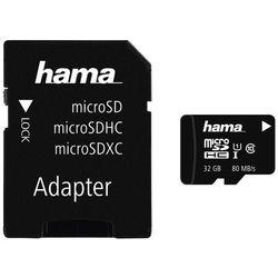 Karta MicroSD Hama KARTA PAMIĘCI HS GOLD microSDHC 32GB UHS-I 80MB /S C10/FOTO - 001241510000 Darmowy odbiór w 20 miastach!